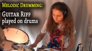 Money for nothing; Guitar Riff played on drums (by Sina)