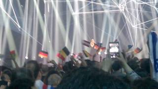 Blanche - City Lights (Belgium) LIVE at the Grand Final for Fan-Zone of the Eurovision 2017