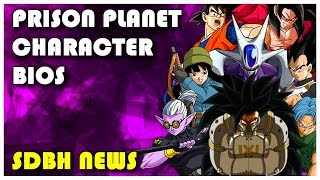 Characters List (English Sub) | Super Dragon Ball Heroes