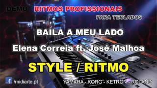 ♫ Ritmo / Style  - BAILA A MEU LADO - Elena Correia ft. José Malhoa