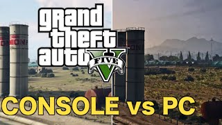 GTA 5: PC vs PS4 Comparison!! (GTA 5 on PC vs Console Graphics)