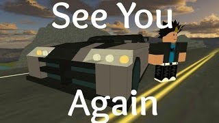 ROBLOX Music Video - See You Again - Wiz Khalifa ft. Charlie Puth