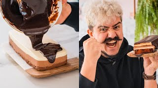 BOLO MOUSSE 3 CHOCOLATES