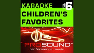 Twinkle Twinkle Little Star (Karaoke Lead Vocal Demo) (In the style of Children's Favorites)