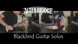 Alter Bridge - Blackbird Guitar Solos // Facu Moure ft. Iñaki Roque