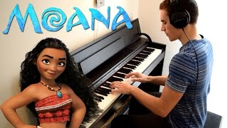 Disney's MOANA - We Know The Way (Piano Cover)