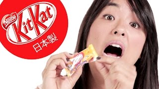 Americans Try Exotic Japanese Kit Kats