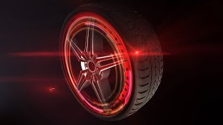 Car Rims Intro After Effects Template