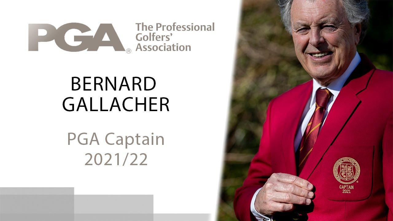 Bernard Gallacher - PGA Captain 2021/22