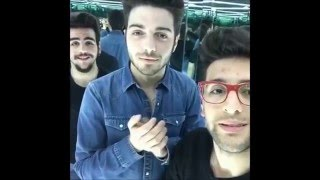 Ancora (A Capella) - Il Volo (Live Chat From Facebook Mentions)