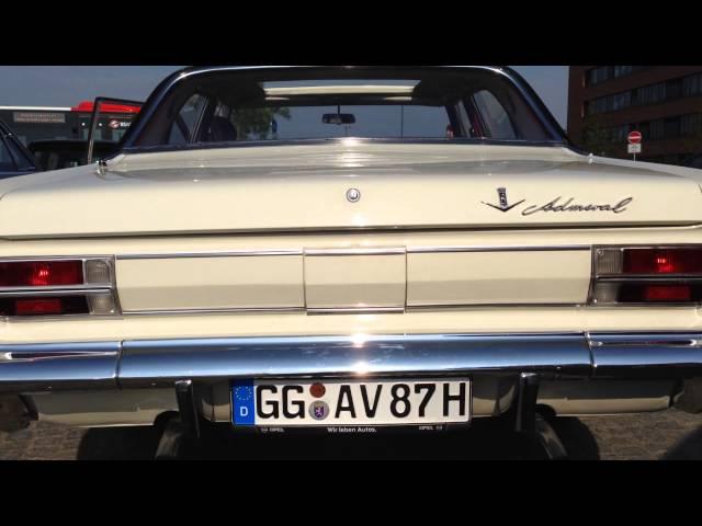 Start Opel Admiral V8