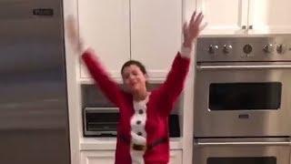 Sofia Richie Prances Around In Her Underwear As Sexy Santa For Scott Disick — Watch