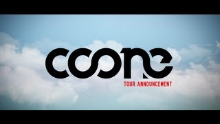 Coone tour announcement North America 2013