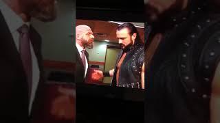 Dean Ambrose b*tch slaps Drew McIntyre Raw, February 18th 2019