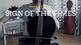 Harry Styles - Sign of the times (shortened version) for cello and piano (COVER)