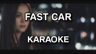 Jasmine Thompson - Fast car [karaoke/instrumental] - Polinstrumentalista
