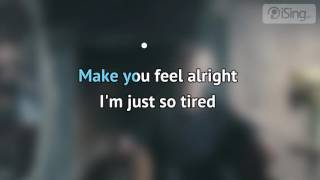 Tom Odell - Another Love (karaoke iSing)
