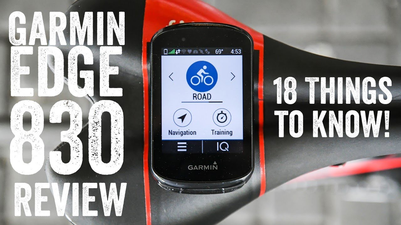 Garmin Edge 830 Review: 18 New Things To Know!
