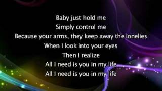 Alicia Keys - Never Felt This Way, Lyrics In Video