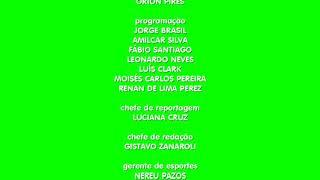 Créditos Jornal da Tribuna - (Chroma) - 60FPS