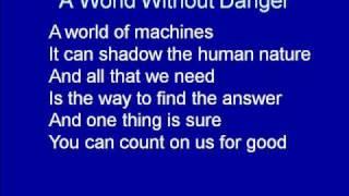 Code Lyoko - A World Without Danger(With Lyrics)