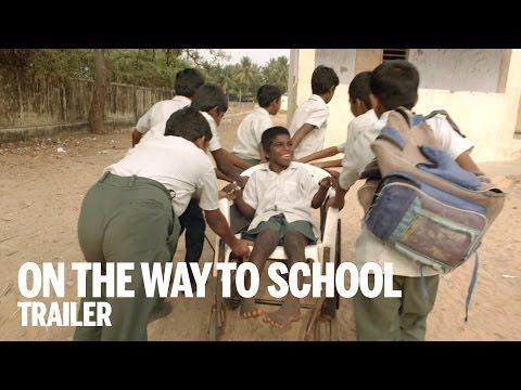 ON THE WAY TO SCHOOL Trailer | TIFF Kids 2014 - YouTube