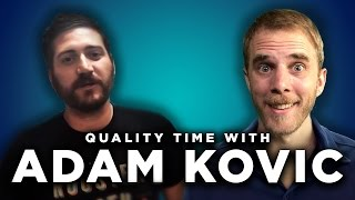 Interview With Funhaus' Adam Kovic // Quality Time With Hutch