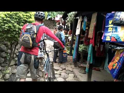 nepali village street