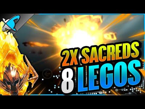 SO MANY LEGOS... INSANE LUCK AGAIN !? | 2X Sacred Shards Highlights! | RAID: Shadow Legends