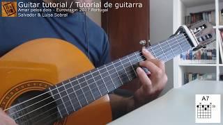 Amar pelos dois - Tutorial de guitarra / Guitar tutorial (ver.2)