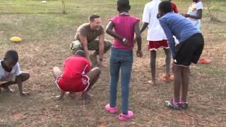 Sailors, Airmen visit African Children's Choir in Uganda