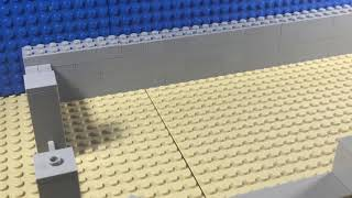 Lego Scp 682 breach
