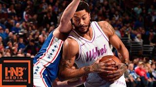 Philadelphia Sixers vs Minnesota Timberwolves Full Game Highlights | 01/15/2019 NBA Season