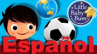 La canción del círculo | Canciones infantiles | LittleBabyBum