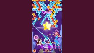 Bubble Witch 3 Saga Level 1041 ~ NO BOOSTERS ~ green cat explained