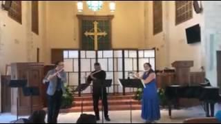 Faure's Pavane for Flute Trio