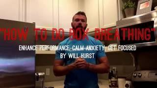 How to Do Box Breathing - Super Simple Technique to Enhance Performance and Calm Anxiety