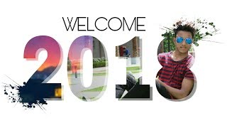 Picsart new year editing | Inside text effect | Picsart tutorial | Happy new year 2018