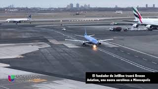 El fundador de JetBlue traerá Breeze Aviation, una nueva aerolínea a Minneapolis
