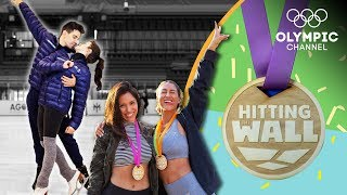 How tough is an Ice Dancing Workout? | Hitting the Wall