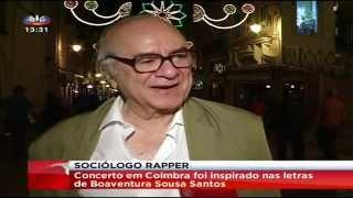 Rapper Sociólogo (SIC Notícias)