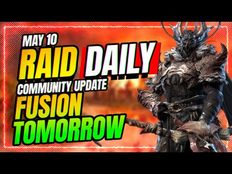 WEEKLY KICKOFF! Fusion TOMORROW! | RAID Shadow Legends