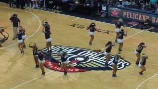 "Pelicans Dance Team ""Eye of the Tiger"""