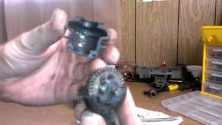E-Revo Rear Diff Rebuild In Detail Part 1 Of 2