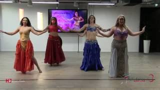 Bellydance show  advanced students