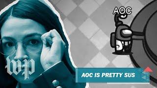 AOC Among Us Twitch Stream Best Moments