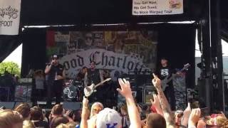 "Good Charlotte ""The Anthem"" live Warped Tour"