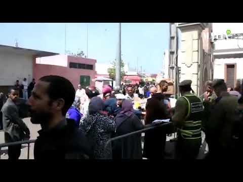Video : Pour faire respecter le confinement sanitaire , Casablanca renforce le contrôle