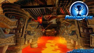 Crash Bandicoot 2: Cortex Strikes Back - Hangin' Out Secret Exit (Hang In There, Maybe! Trophy)
