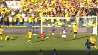 Norveç Ligi'nde atılan Bergkamp golü